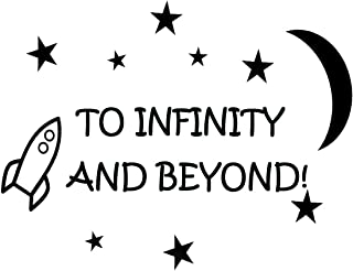 to Infinity and Beyond! Vinyl Wall Decals Quotes Kids Room Wall Quote Nursery Wall Decals Boys Room
