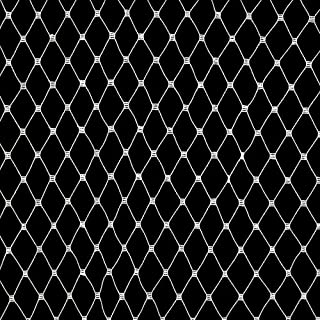 Jason's Inc CI-477 18in Russian Netting White Fabric by the Yard