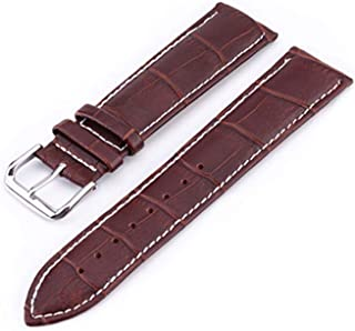 Watch Band Genuine Leather Straps 10 24Mm Watch Accessories Brown Colors Watchbands