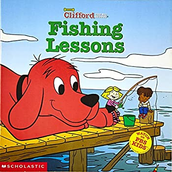 Fishing Lessons (Clifford) - Book  of the Clifford the Big Red Dog