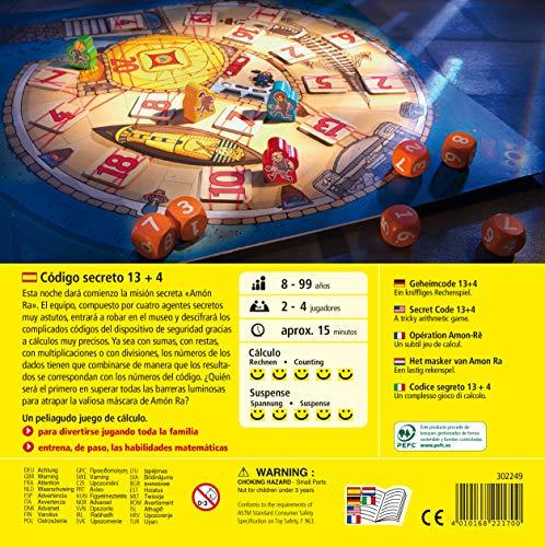 HABA- Código Secreto 13 + 4 Juego de Mesa, Multicolor (302249)