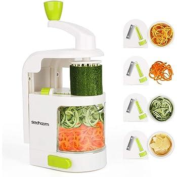 Espiralizador vegetal Sedhoom Cortador de Verduras MultiFunción de ...