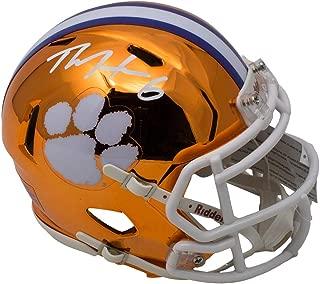 DeAndre Hopkins Signed Clemson Tigers Mini Speed Chrome Helmet JSA