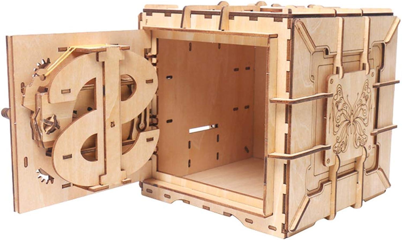 Baosity Wooden Hand Mechanical Models Construction Kit, 3D