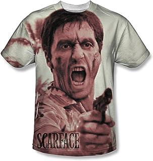 Scarface - Camiseta - Hombre Blanco Blanco