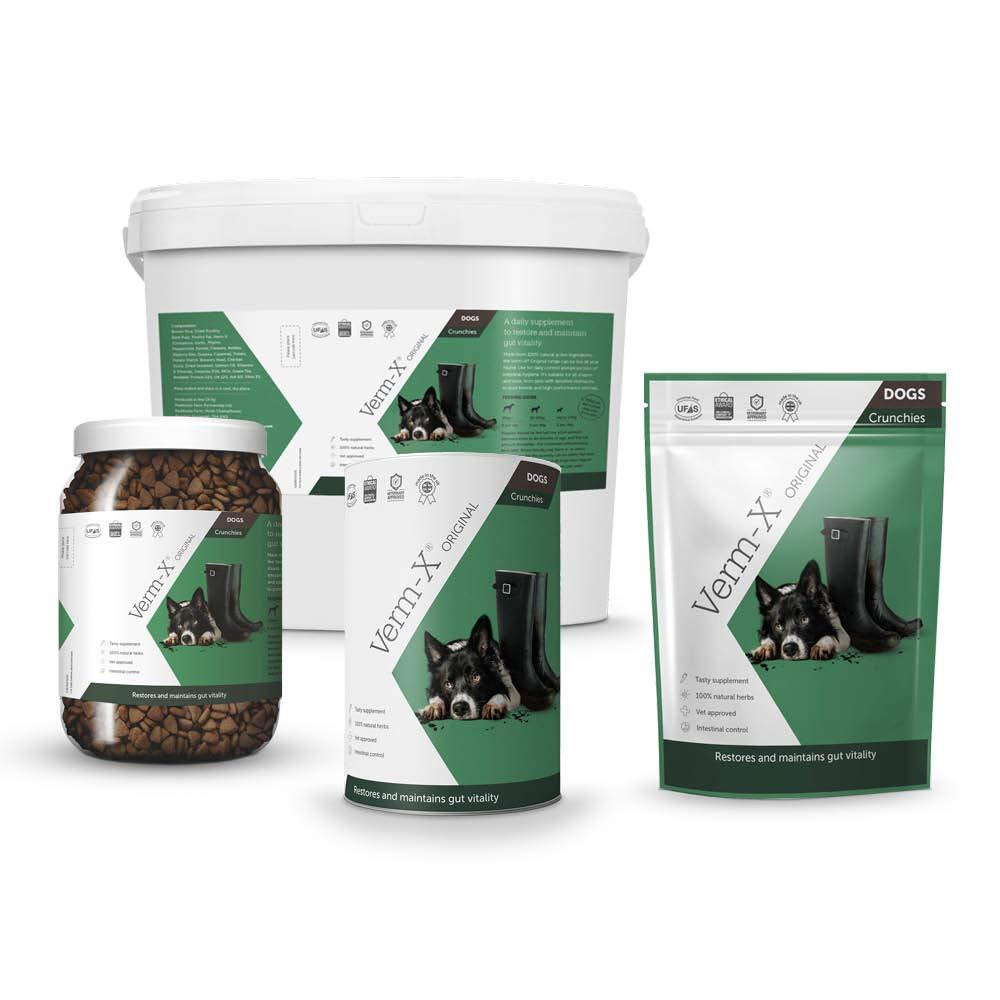 Verm-X Crujientes para perro, 325g: Amazon.es: Productos para mascotas