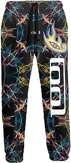 HSHF-JKSL Tool Band Mens 3D Print Tree Camo Sweatpant Fleece Loose Fit Jogger Pants