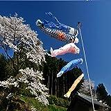 [page_title]-Bluelover 1 Set 5Pcs Japanischen Karpfen Flag Banner Windsack Sailfish Koinobori Wind Streamer Muticolor Karpfen