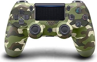 Controlador PS4 [versão atualizada], gamepad sem fio Bluetooth com cabo USB para Sony Playstation 4, compatível com PS4 / ...