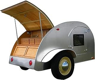 8' Teardrop Camper Trailer DIY Plans Tear Drop Vintage Camper RV Build Your Own
