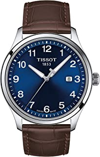 mens Tissot Gent XL Stainless Steel Casual Watch Brown T1164101604700