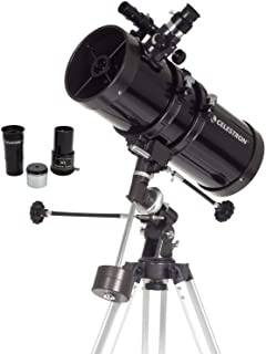 Celestron 21049 Power Seeker Telescope, Reflector, Black