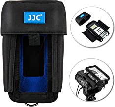 Handy Recorder Pouch JJC Portable Case Accessories for Zoom H4n & H4n Pro Replaces Zoom PCH-4n with Hook & Loop Fasteners Design Removable Mic Cover Belt Loop Boom Pole Sleeve & D-Ring