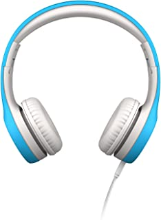 LilGadgets LGCP-03 Connect+ Premium Volume Limited Wired Headphones with SharePort for Children - Blue