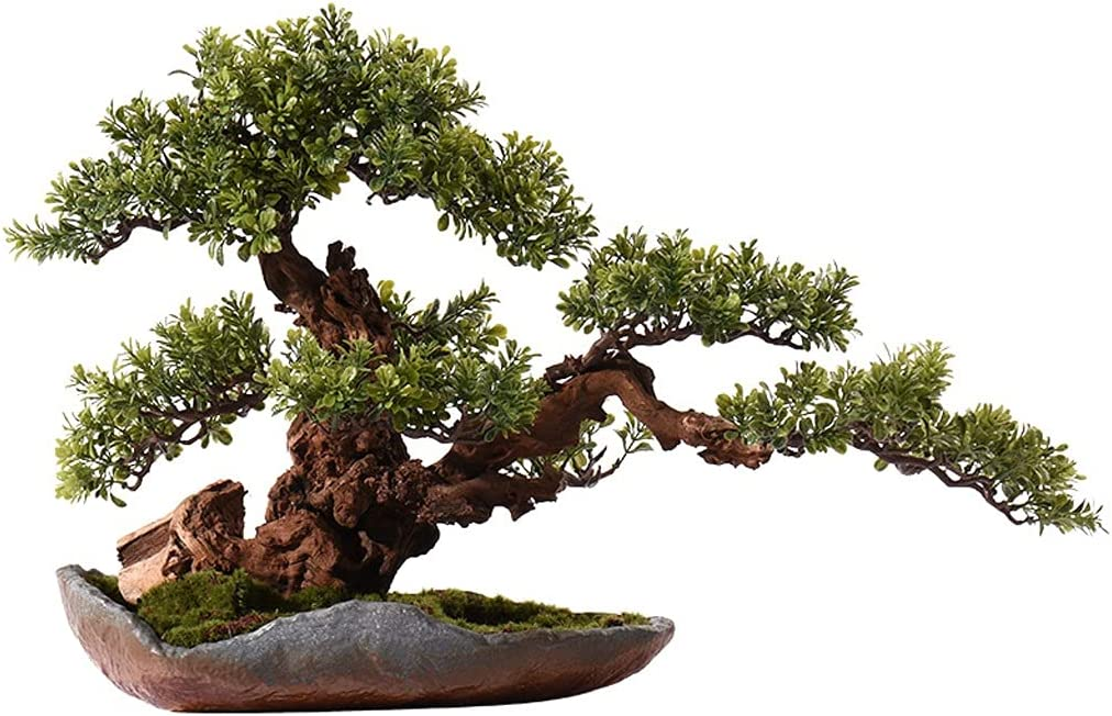 zxb-shop Simulation Award-winning store Tree Artificial Plant New item Zen Wel Chinese Bonsai