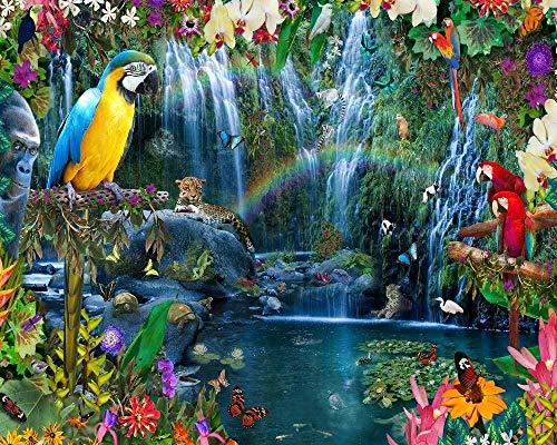WXLSL Tropisches Paradies Puzzle 1000 Stück Landschaft Startseite Bilderrahmen Dekoration Erwachsene Spiele Holz Puzzle