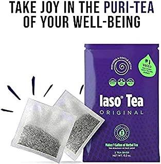 IASO Natural Herbal Detox Tea Bags - Single Pack (2 Tea Bags)
