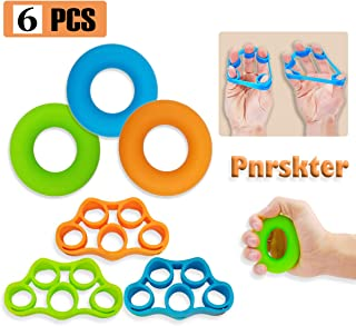 Pnrskter Hand Grip Strengthener, Finger Exerciser, Grip Strength Trainer,New Material,Forearm Grip Workout, Finger Stretcher, Relieve Wrist Pain, Carpal Tunnel.