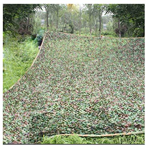 ZTMN Jungle Camouflage Net Oxford Cloth Protección Solar Decoración al Aire Libre Yate Jardín Sombrilla Bar temático Transpirable De Varios tamaños Opcional
