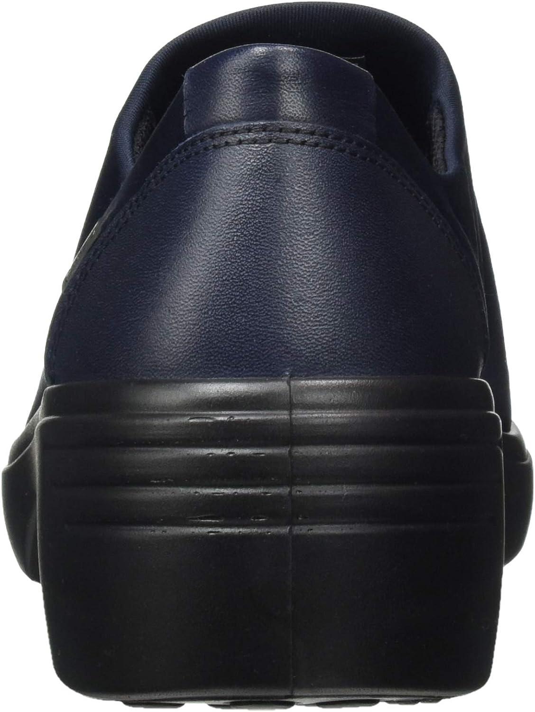 ECCO Damen Soft 7 Wedge Night SkyNight Sky Loafer Loafers