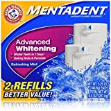 Mentadent Toothpaste, Advanced Whitening, 2- 5.25 oz. Packages (Pack of 3) by Mentadent