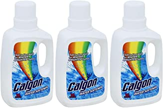Calgon Liquid Water Softener, 32 fl oz Bottle, Laundry Detergent Booster, Brighter Clothes (Pack of 3)