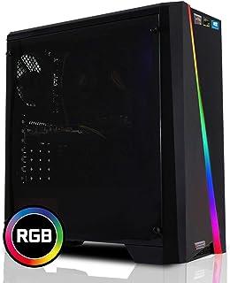dercomputerladen Ordenador PC Office Sistema, procesador, Placa Base, Memoria, Carcasa Negro i7 6700 mit Intel HD Grafik 530 mit 16GB DDR4-RAM