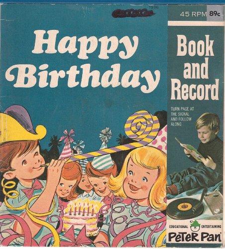 Happy Birthday (Peter Pan Records Read Along) (English Edition)