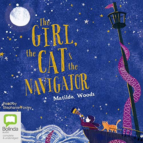 The Girl, the Cat and the Navigator audiobook cover art