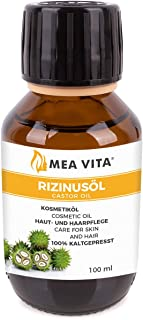 comprar comparacion MeaVita - Aceite de ricino puro, natural, vegano, sin hexano, no OGM, 100 ml