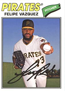 2018 Topps Archives #196 Felipe Vazquez Pittsburgh Pirates Baseball Card