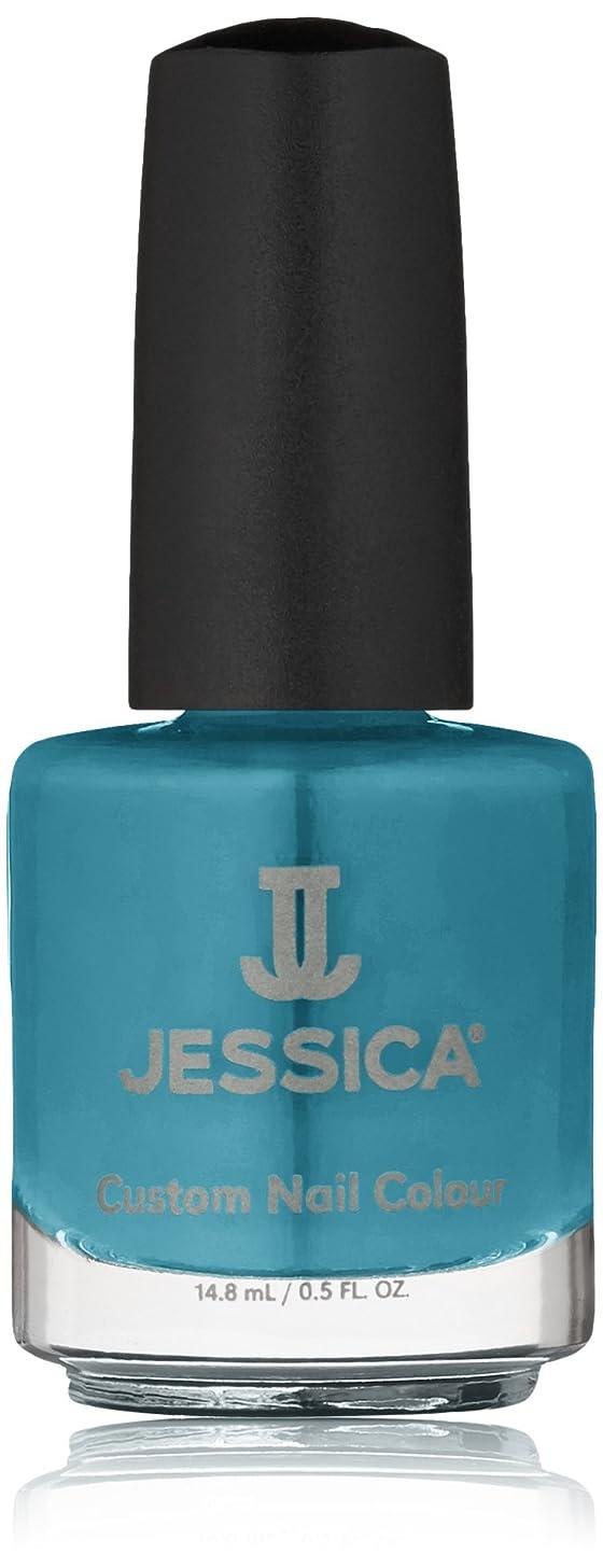 中央静脈割れ目Jessica Nail Lacquer - Faux Fur Blue - 15ml/0.5oz