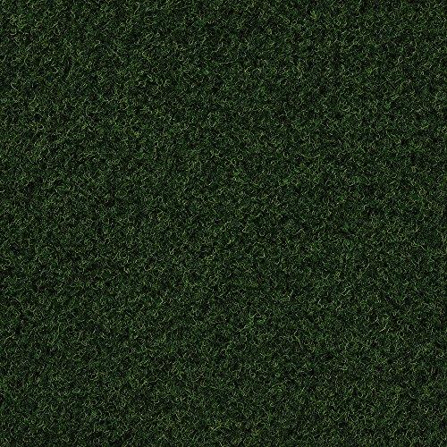 Kunstrasen Rasenteppich mit Noppen | Höhe ca. 7,5mm | 133, 200, 250 und 400 cm Breite | dunkel-grün | Meterware, verschiedene Größen | Größe: 2,5 x 2,5 m