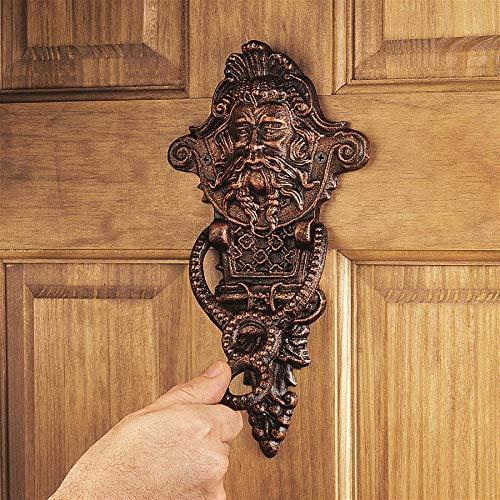 Design Toscano Winthrop Manor Greenman Door Knocker