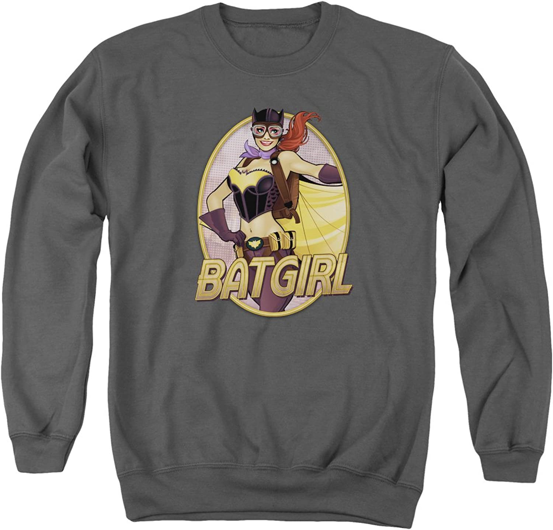 Justice League  Mens Batgirl Bombshell Sweater
