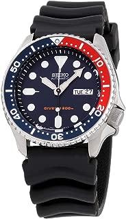Divers Navy Dial Rubber Strap Men's Watch SKX009P9