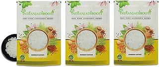 IndianJadiBooti Bhimseni Kapoor - Baras Kapur - Karpoora - Karpura - Kamfer - Cinnamomum Camphora, 3 verpakkingen van 900 ...
