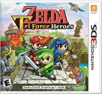 Legend of Zelda: Tri Force Heroes (輸入版)