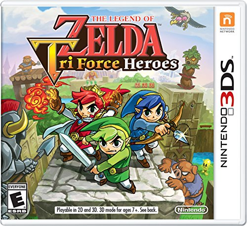 The Legend of Zelda: TriForce Heroes - 3DS