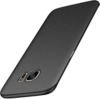 Avalri Thin Fit Samsung Galaxy S7 Edge Case with Matte Surface and Minimalist for Galaxy S7 Edge (Matte Black)