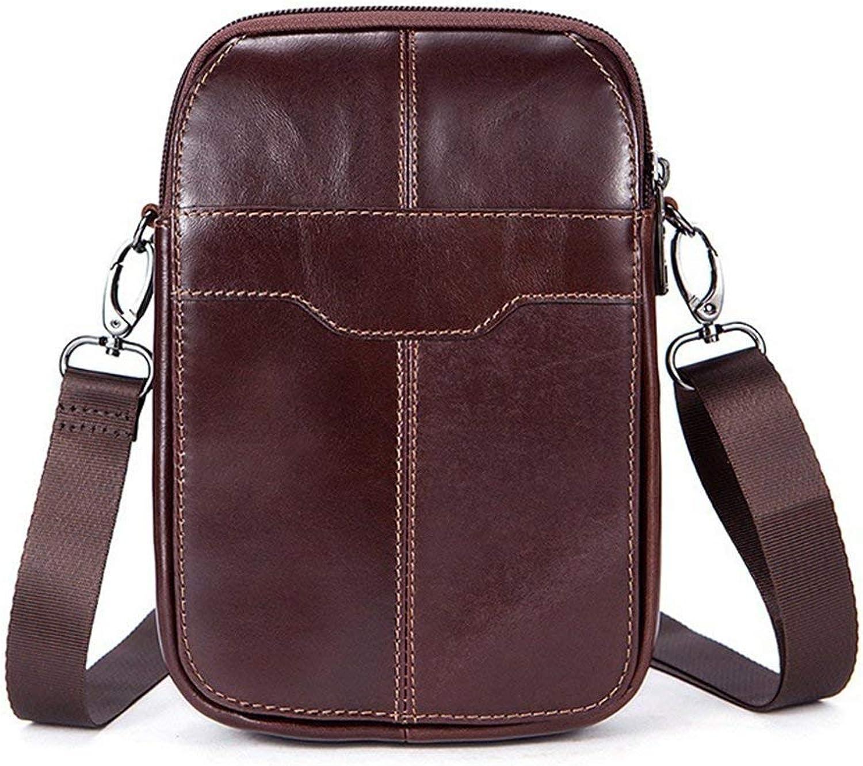 DDOQ Luxus Herren Leder Schultertaschen Schultertaschen Schultertaschen Aktentaschen Messenger Bags Vintage Design Large Capacity B07QPJ19HR 017835