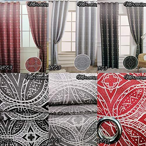 cortinas dormitorio granate