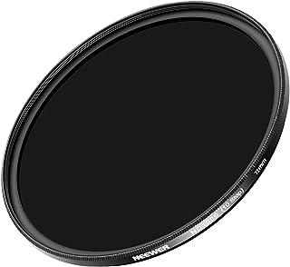 Neewer スリム72mm ND 1000カメラレンズフィルター 72mm フィルタースレッド付きのSLR カメラレンズに対応