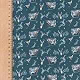 Designer-Stoff, 100% ägyptische Baumwolle, Highland