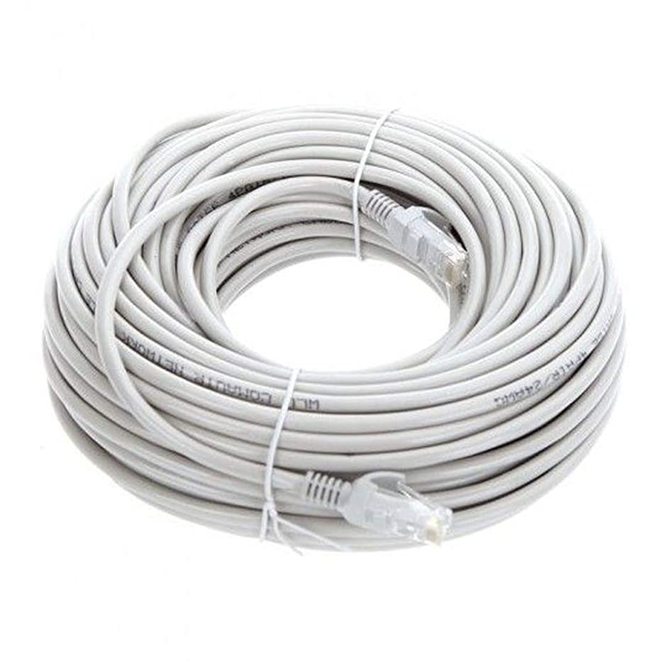 Lknewtrend 200FT Feet Cat6 Ethernet Patch Cable - UTP 550Mhz RJ45 Network Internet Wire Cord for Computer, PoE Camera, Router, Modem, Switch