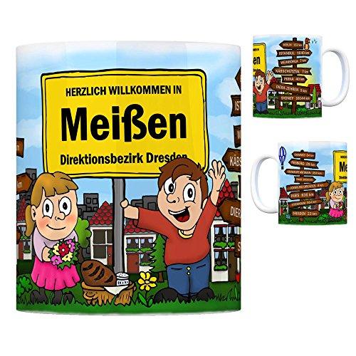 trendaffe - Herzlich Willkommen in Meißen Sachsen Kaffeebecher