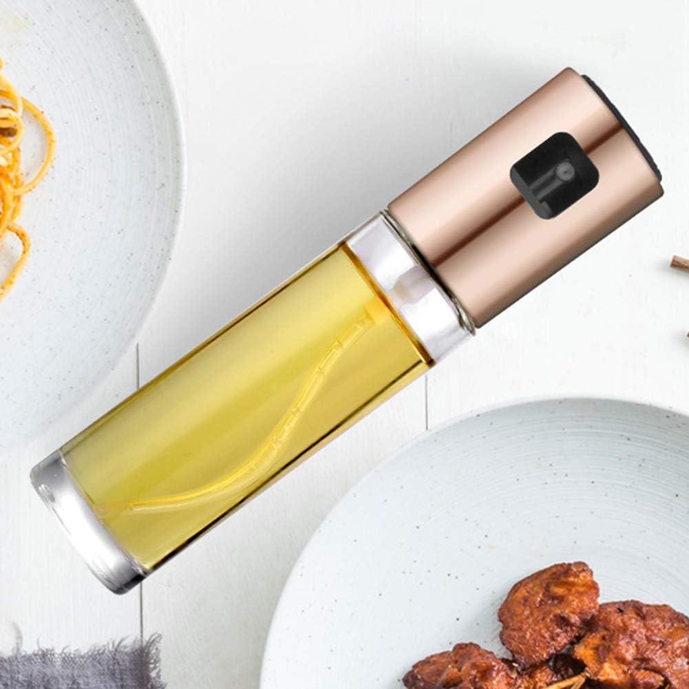 f/ür die K/üche Grillen Kochen Salate Free Size /Öl und Essig gold Braten /Ölspr/üher Spender 100 ml nachf/üllbare /Ölspr/ühflasche f/ür Grill