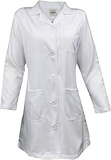 UNIFIT Women Adjustable waist belt Professional Lab Coats