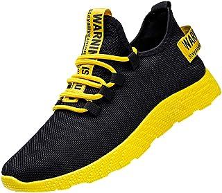 Homme Chaussures De Course Sport Running Respirantes Poids Léger Basket Mode Tendance Basse Pas Cher Soldes Sneakers Fitne...