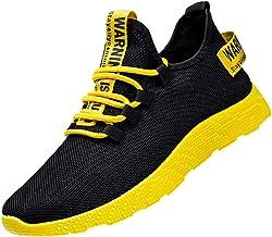 Zapatos Hombre MISSWongg Respirable Malla Zapatillas Deportes Antideslizante Resistente al Desgaste Suela de Goma Zapatos Deportes Shoes de Trekking Hombre Mujer Ligeras Running